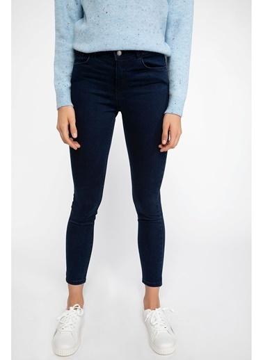 DeFacto Agata Süper Skinny Denim Pantolon Mavi